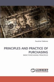 Principles and Practice of Purchasing, Taderera Faustino