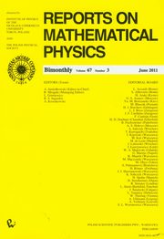 Reports on Mathematical Physics 67/3,
