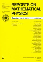 Reports on Mathematical Physics 68/3,