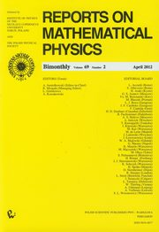 Reports on Mathematical Physics 69/2 Kraj,