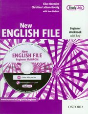 New English File Beginner Workbook with key, Oxeden Clive, Latham-Koenig Christina