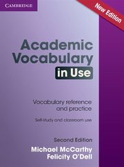Academic Vocabulary in Use with Answers, McCarthy Michael, ODell Felicity