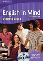 English in Mind 3 Student's Book with DVD-ROM, Puchta Herbert, Stranks Jeff