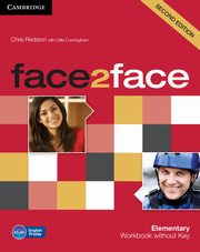 face2face Elementary Workbook without Key, Redston Chris, Cunningham Gillie