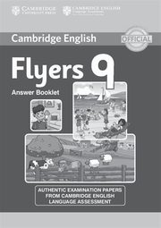 Cambridge English Flyers 9 Answer booklet,