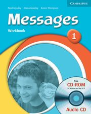 Messages 1 Workbook +CD, Goodey Diana, Goodey Noel, Thompson Karen