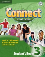 Connect 3 Student's Book + Self-study Audio CD, Richards Jack C., Barbisan Carlos, Sandy Chuck