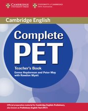 Complete PET Teacher's Book, Heyderman Emma, May Peter