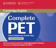 Complete PET Class Audio 2CD, Heyderman Emma, May Peter