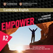 Cambridge English Empower Elementary Class Audio 3CD, Doff Adrian, Thaine Craig, Puchta Herbert