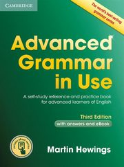 Advanced Grammar in Use Book with Answers and eBook, Hewings Martin