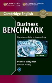 Business Benchmark Pre-intermediate to Intermediate Personal Study Book, Whitby Norman