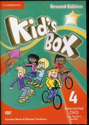 Kid's Box Second Edition 4 Interactive DVD (NTSC) with Teacher's Booklet, Nixon Caroline, Tomlinson Michael, Elliott Karen