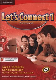Let's Connect 1 Zeszyt ćwiczeń, Richards Jack C., Barbisan Carlos, Sandy Chuck