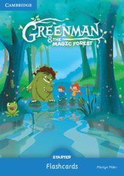 Greenman and the Magic Forest Starter Flashcards (Pack of 48), Miller Marilyn
