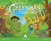 ksiazka tytuł: Greenman and the Magic Forest A Pupil's Book with Stickers and Pop-outs autor: Miller Marilyn, Elliott Karen