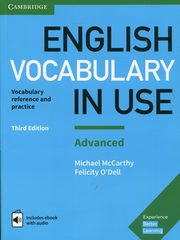 ksiazka tytuł: English Vocabulary in Use Advanced autor: McCarthy Michael, O'Dell Felicity
