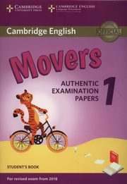 Cambridge English Movers 1 Student's Book Authentic Examination Papers,