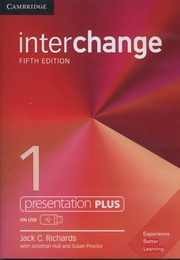 Interchange 1 Presentation Plus USB, Richards Jack C.