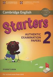 Cambridge English Starters 2 Student's Book,