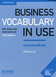 Business Vocabulary in Use Intermediate with answers, Mascull Bill