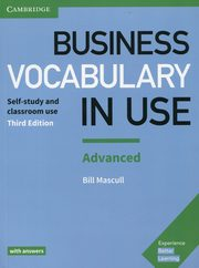 Business Vocabulary in Use Advanced with answers, Mascull Bill